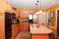 Open Kitchen with Granite