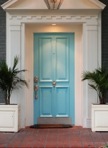 my front door blue